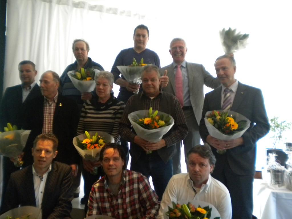 Willem de Bruijn 3e BESTE DOFFER 5e BESTE DAGFOND DUIF en 10e BESTE LIEFHEBBER WHZB.